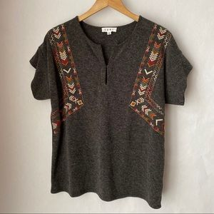 Anthropologie/THML top